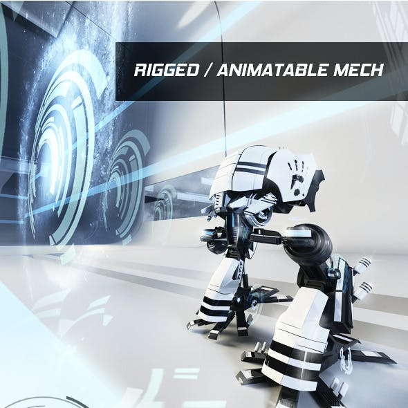 rigged mech