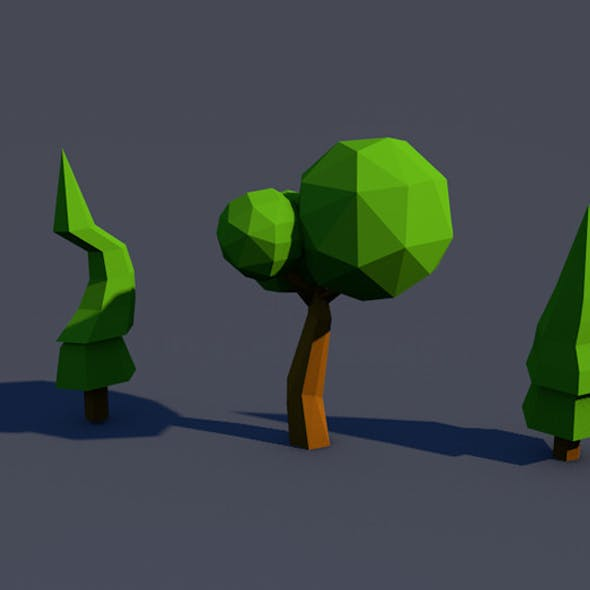 Low Poly Tree [Mini Pack]