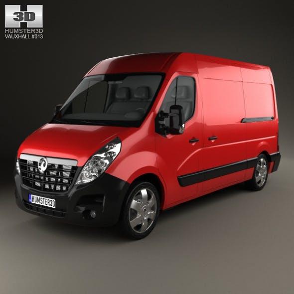 Vauxhall Movano Panel Van 2010 - 3DOcean Item for Sale