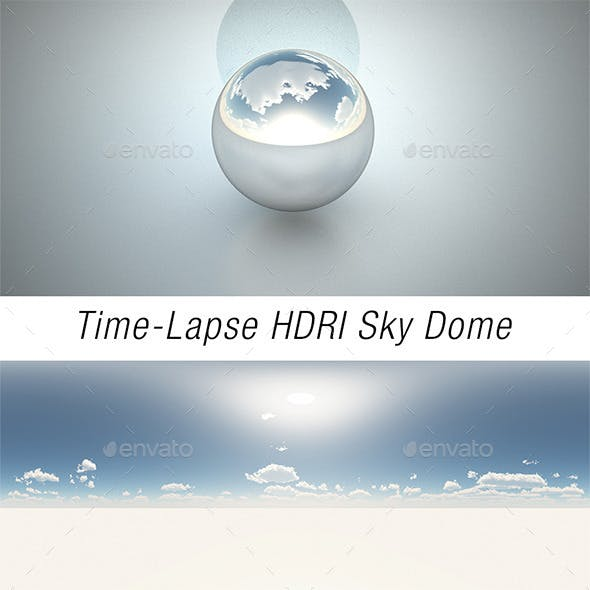 Time-Lapse HDRI Sky Dome - 3DOcean Item for Sale