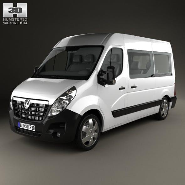 Vauxhall Movano Passenger Van 2010 - 3DOcean Item for Sale
