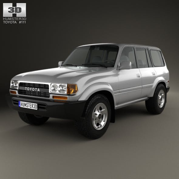 Toyota Land Cruiser (J80) 1995