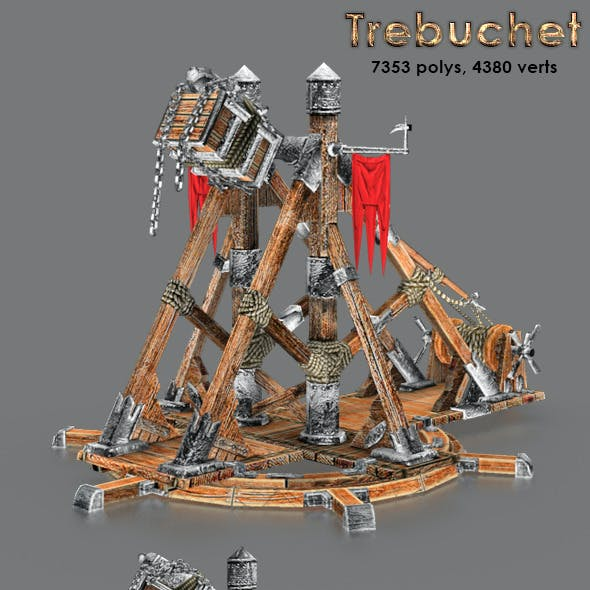 Medievil Trebuchet