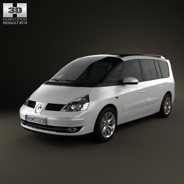 Renault Grand Espace 2011 - 3DOcean Item for Sale