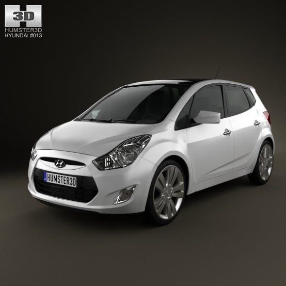 Hyundai ix20 2011 - 3DOcean Item for Sale
