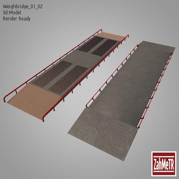 Weighbridge 01/02  (3D Model)