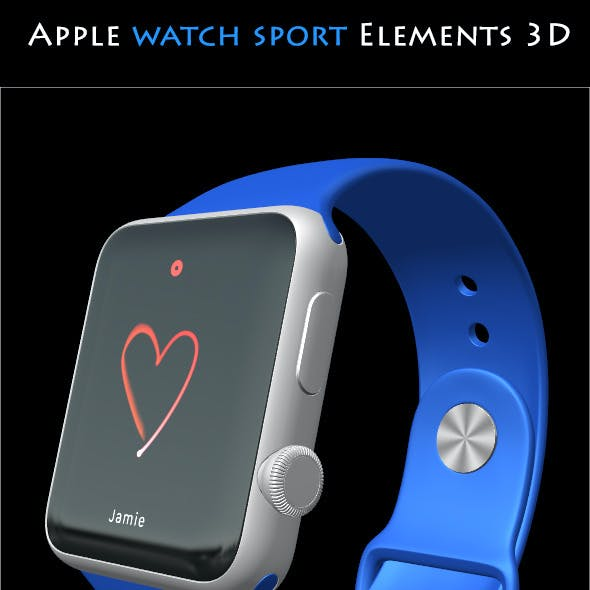 Element3D - Apple Watch Sport