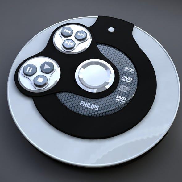 Discman - 3DOcean Item for Sale