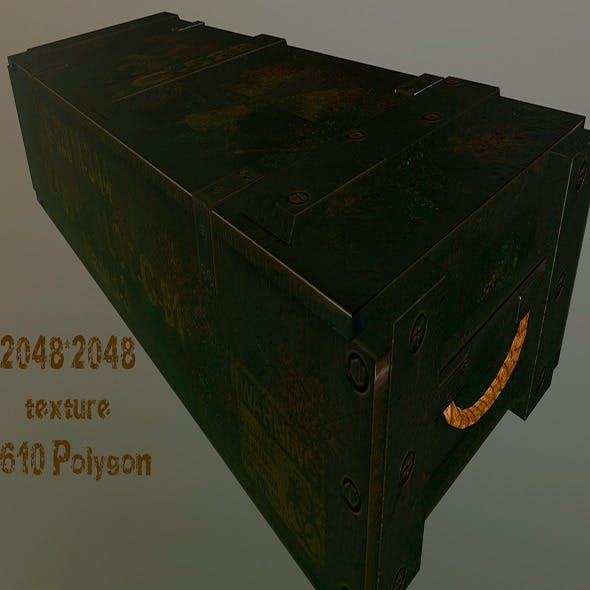 ArmyBox - 3DOcean Item for Sale