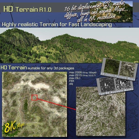 HD TERRAIN R1.0 - 3DOcean Item for Sale