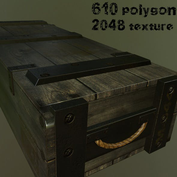 ArmyAmmoBox - 3DOcean Item for Sale