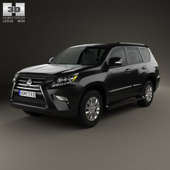 Lexus GX (J150) 2014 - 3DOcean Item for Sale