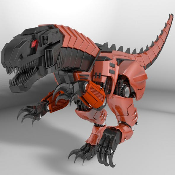 Raptor dinosaur robot
