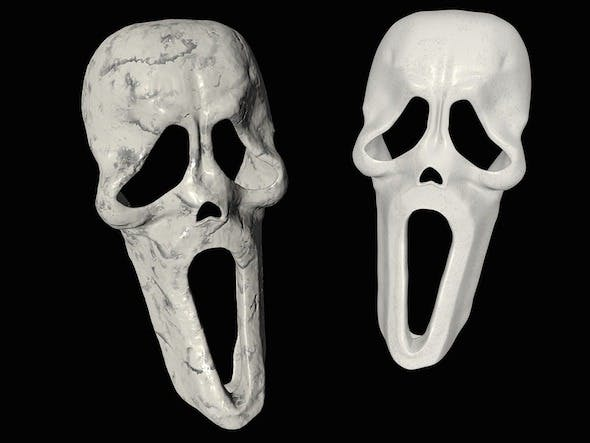 Skull Mask - 3DOcean Item for Sale