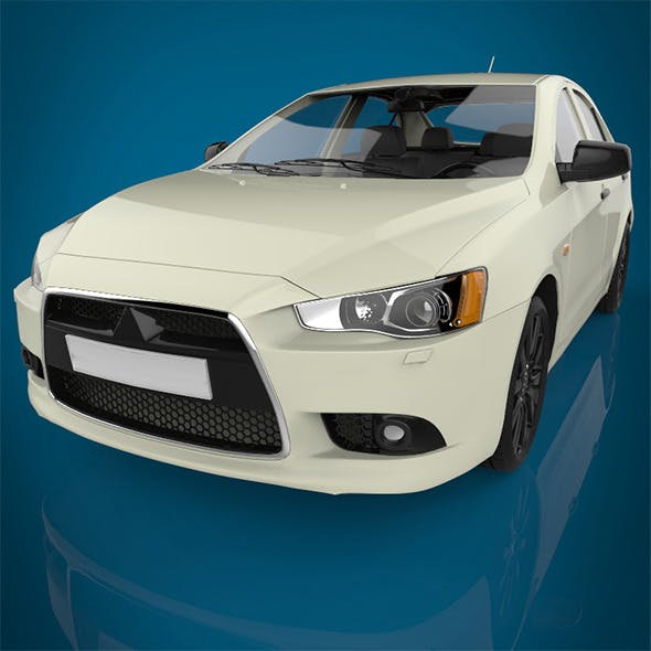 luxury car  - 3DOcean Item for Sale