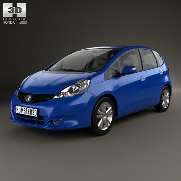 Honda Jazz 2010 - 3DOcean Item for Sale