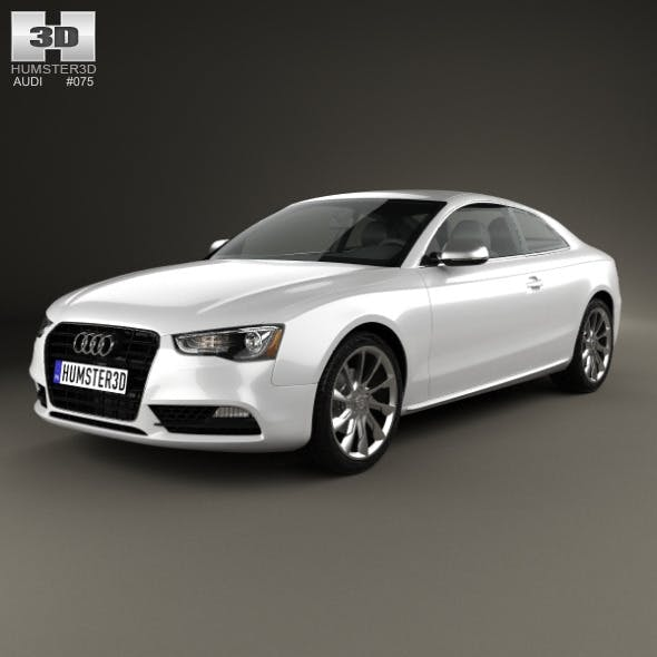 Audi A5 (8T3) coupe 2012 - 3DOcean Item for Sale