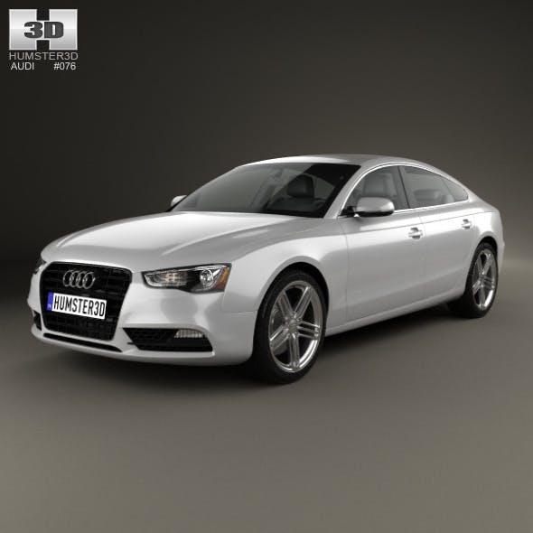 Audi A5 (8TA) sportback 2012 - 3DOcean Item for Sale