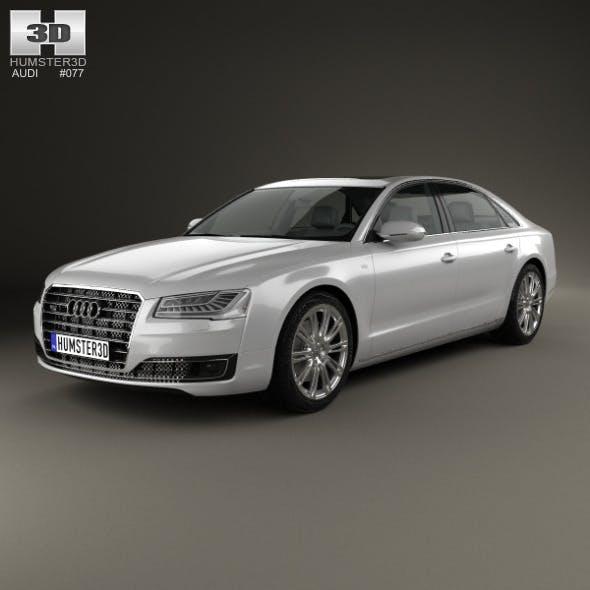 Audi A8 (D4) L 2014 - 3DOcean Item for Sale