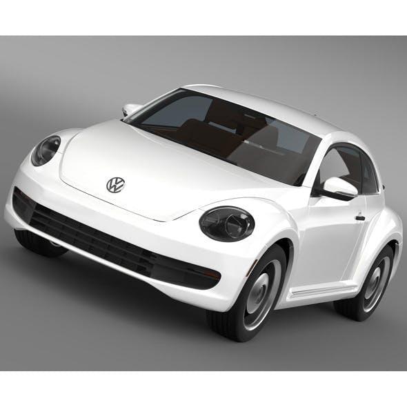 Volkswagen Beetle Classic 2015 - 3DOcean Item for Sale