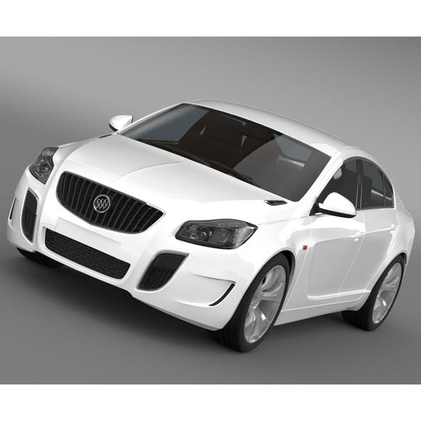 Buick Regal GS Concept 2010 - 3DOcean Item for Sale