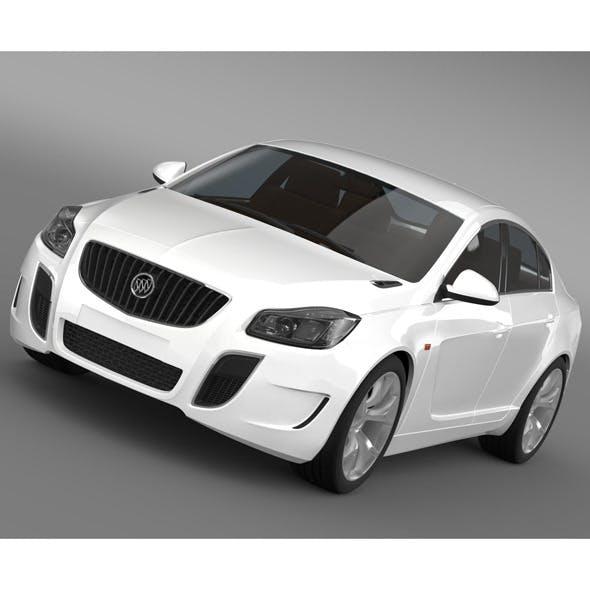 Buick Regal GS Concept 2010