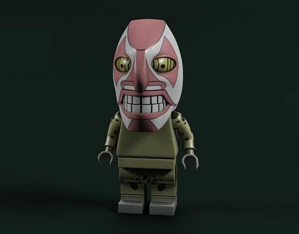 Lego Bleach - Dondochakka Bilstin - 3DOcean Item for Sale