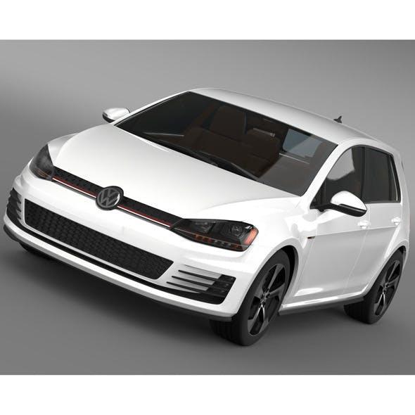 Volkswagen Golf GTI 5 door 2015