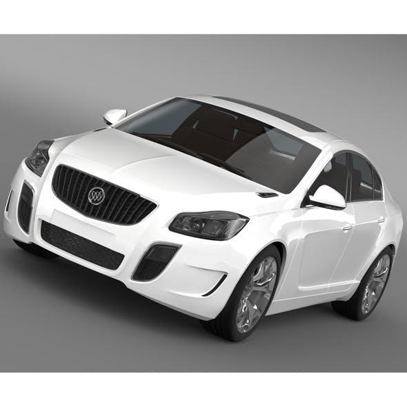 Buick Regal GS 2011-2013