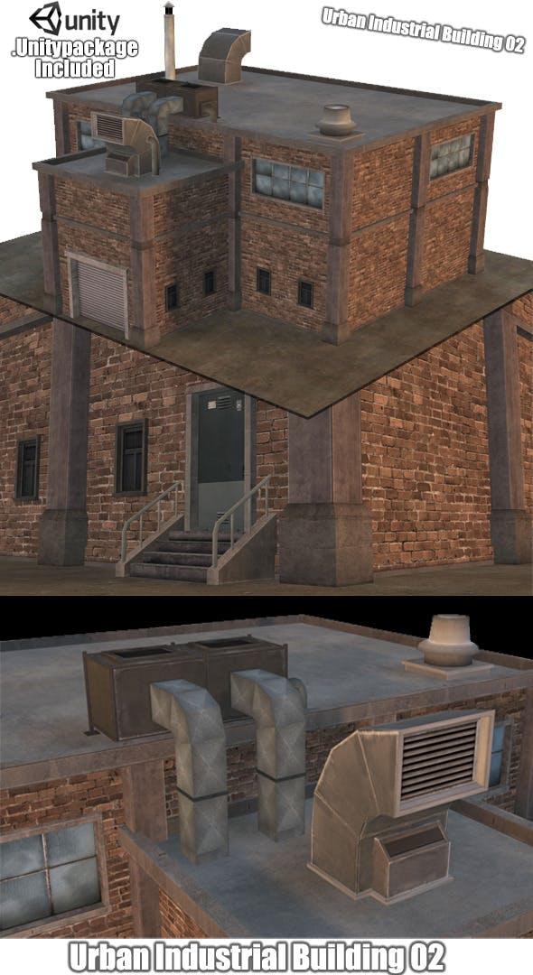 Urban Industrial Building 02 - 3DOcean Item for Sale