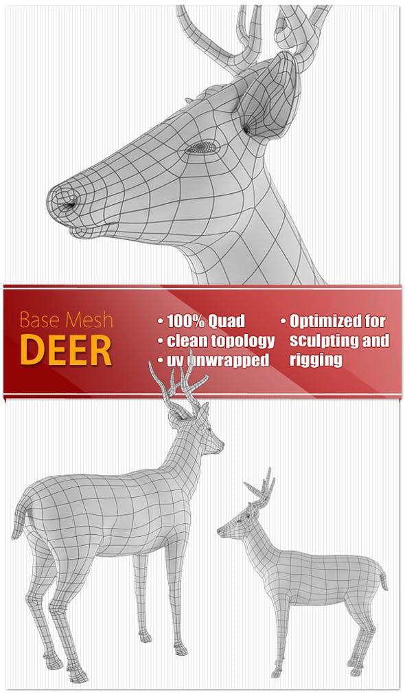 Deer - 3DOcean Item for Sale