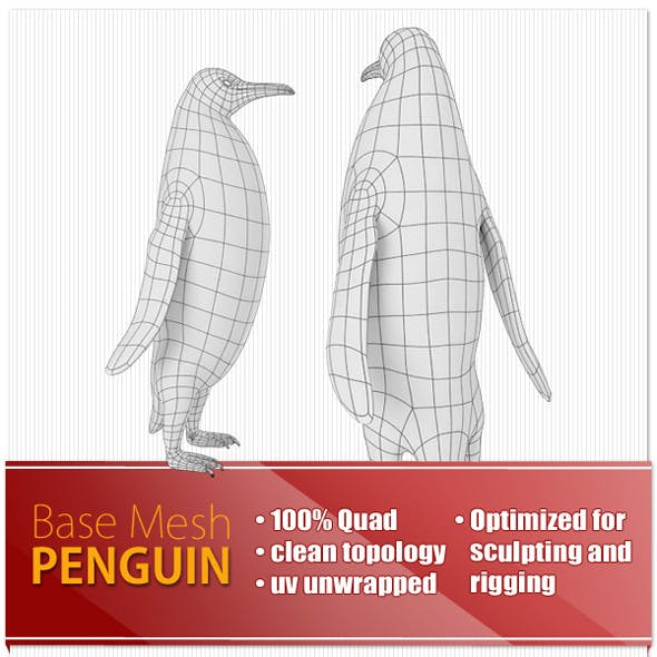 Penguin Base Mesh