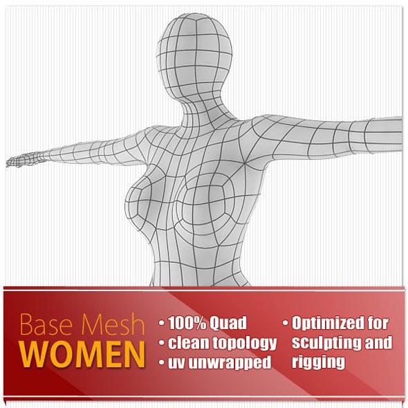Women Base Mesh