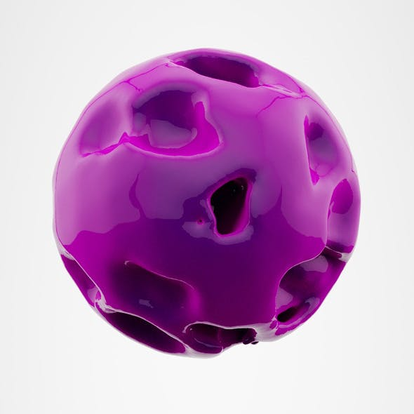 Highly Detailed Morphed Sphere Model