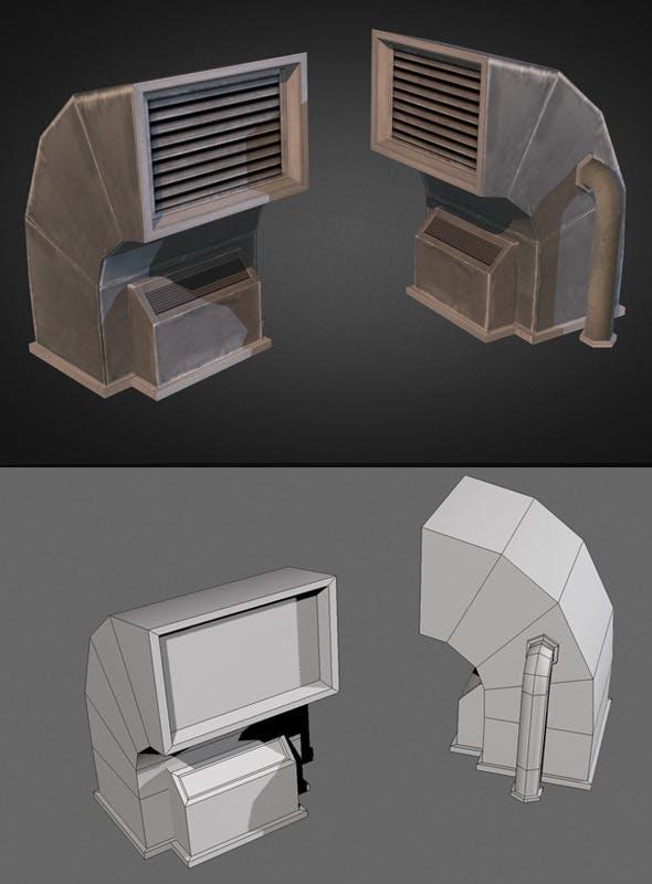 Air Condition Unit 04 - 3DOcean Item for Sale