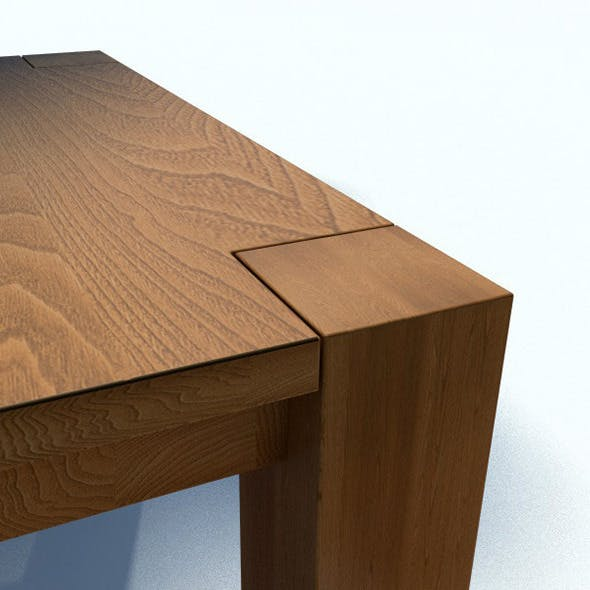 e15 Bigfoot Table - 3DOcean Item for Sale