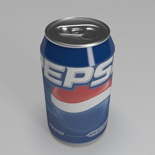 Soda Can - 3DOcean Item for Sale