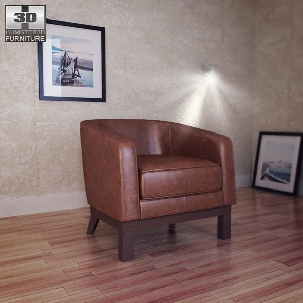 Accent Chair - Soflex - 3DOcean Item for Sale