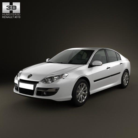 Renault Laguna 2011 - 3DOcean Item for Sale