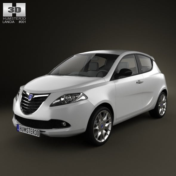 Lancia Ypsilon 2011 - 3DOcean Item for Sale