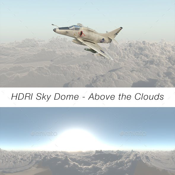 HDRI Sky Dome - Above The Clouds - 3DOcean Item for Sale