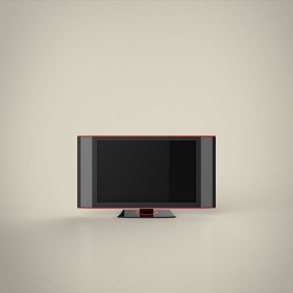TV HD 3d model - 3DOcean Item for Sale