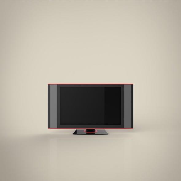 TV HD 3d model