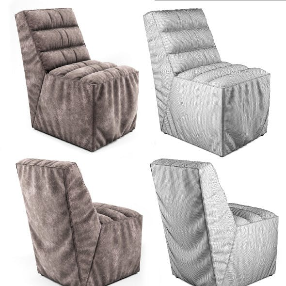 Soft Chair with pleats