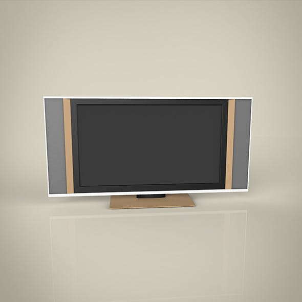 Big TV  modal - 3DOcean Item for Sale