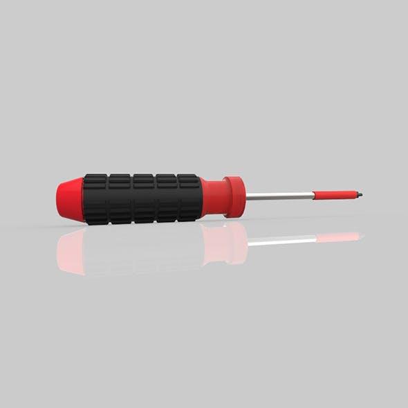 screwdriver 3d Modal