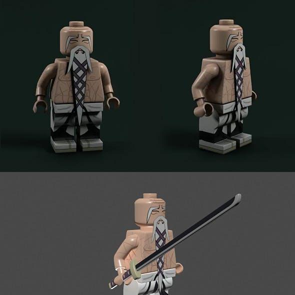Lego Bleach - Yamamoto Shigekuni Genruysai and Ryu