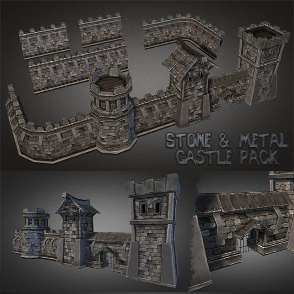 Fantasy Stone Castle Pack