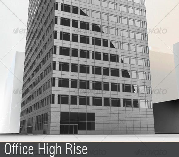 Office Highrise - 3DOcean Item for Sale