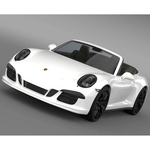 Porsche 911 Carrera 4 GTS Cabriolet 991 2015 - 3DOcean Item for Sale
